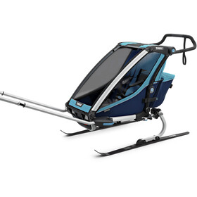 Thule Chariot Cross 1 Remolques, thule blue/poseidon